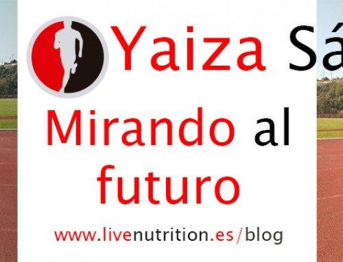 Yaiza Sáiz, mirando al futuro