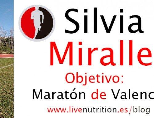Silvia Miralles: Objetivo Maratón de Valencia